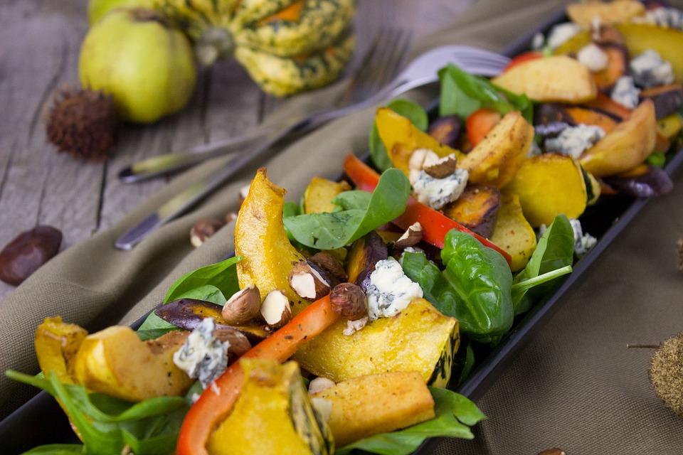 салат из тыквы - гарнир к мясу и рыбе