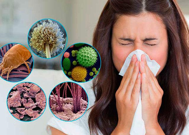 Минимизация контакта с аллергенами