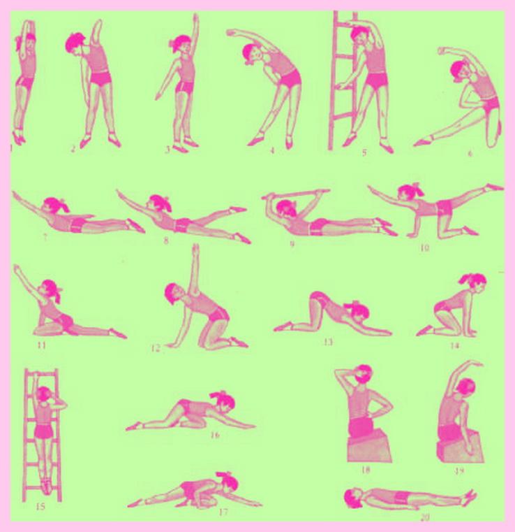 Комплекс упражнений при сколиозе 1 и 2 степени (с картинками)