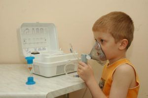 Ингаляция с применением йода для лечения кашля
