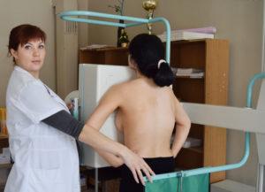 Плановое прохождение флюорографии для профилактики болезней легких