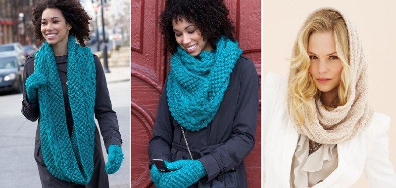 шарфы снуды