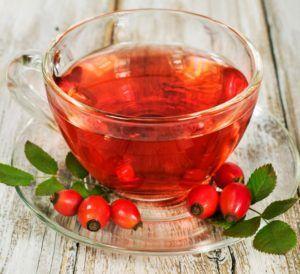 Чай из плодов шиповника при кашле