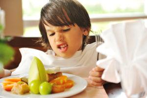 Большая температура употребляемой пищи является причиной развития кашля