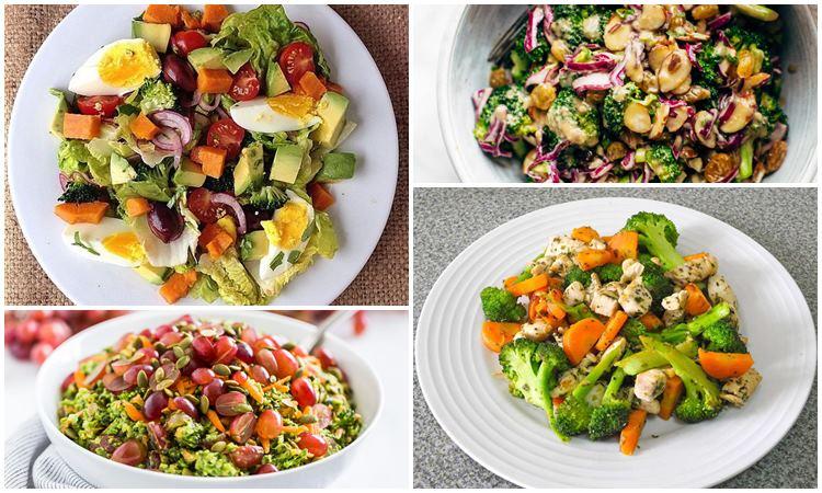 полезные салаты из брокколи