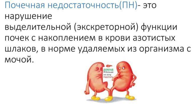 Содовый раствор запрещен при почечной недостаточности