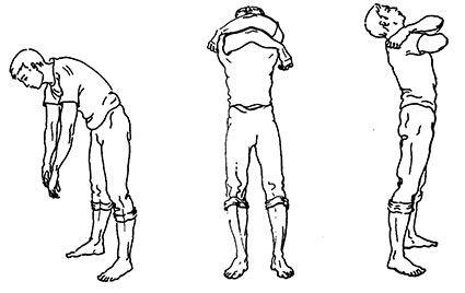 Упражнение «Наклоны»