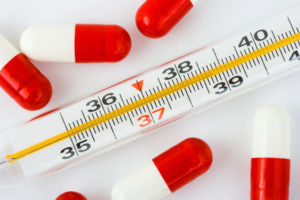 Повышенная температура тела является признаком легионеллезной пневмонии