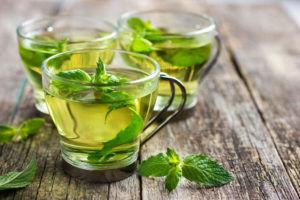 Мятный чай при кашле