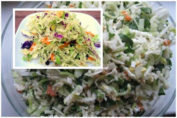 Салат из сельдерея для очищения организма
