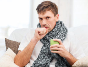 Кашель при раке легких является основным симптомом