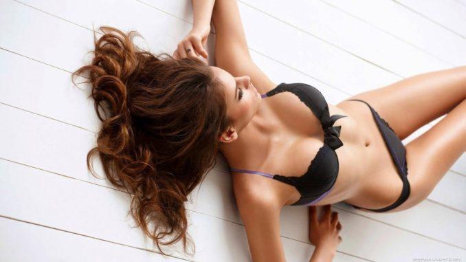 красивое тело девушки