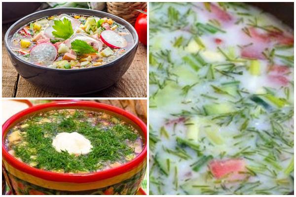 рецепты холодного супа на березовом соке