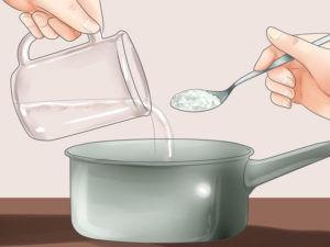 Солевой раствор для полоскания горла
