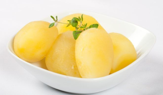 Отварная картошка