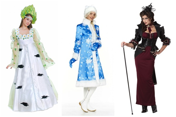 маскарадный костюм для женщины