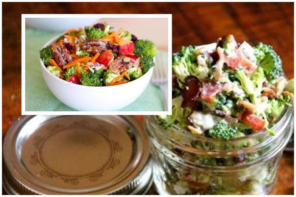 десертный салат из брокколи